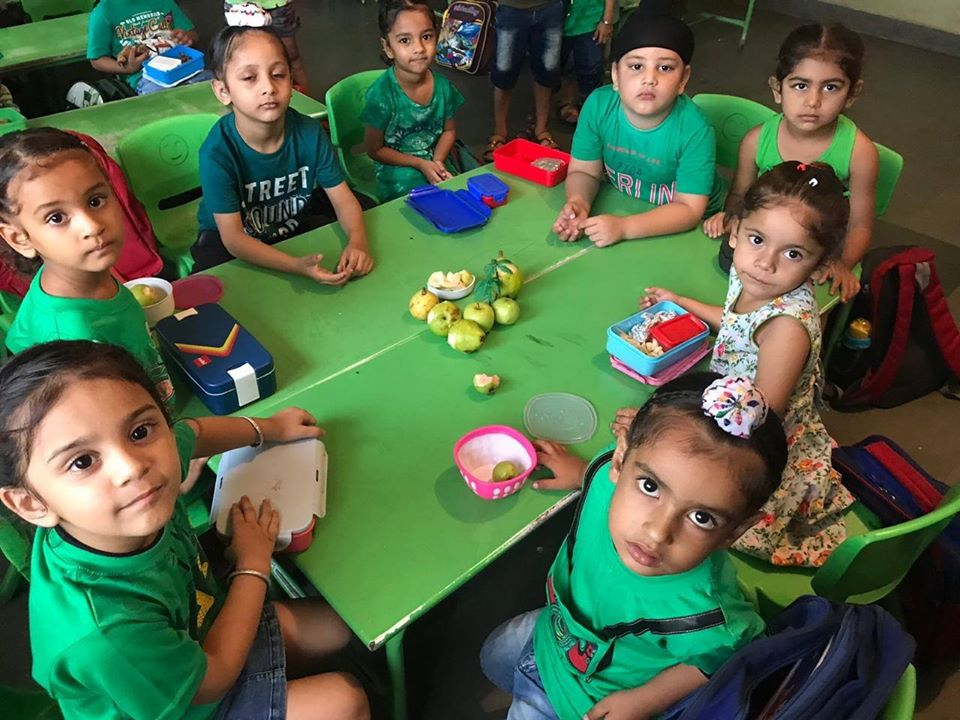 4456Pre Primary Wing of SPPS Convent School,Begowal celebrated Green Day 3 with great zeal and enthusiasm